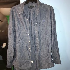 Mens Ralph Lauren Button-Down Long Sleeve Size Med